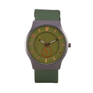 Quartz Horloge - Groen & Zwart