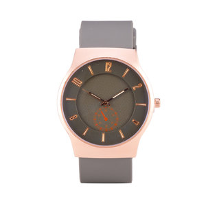 Quartz Horloge - Grijs & Rosé