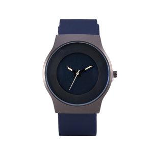 Quartz Horloge - Blauw & Zwart