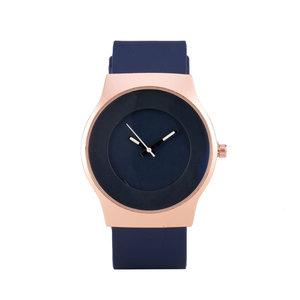 Quartz Watch - Blue & Rosé