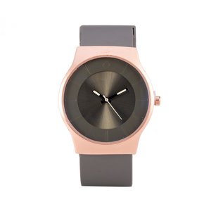 Quartz Watch - Grey & Rosé