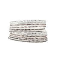 Wikkel Armband  Wit